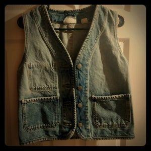 ⚡Vintage 80s-90s DKNY jeans denim vest
